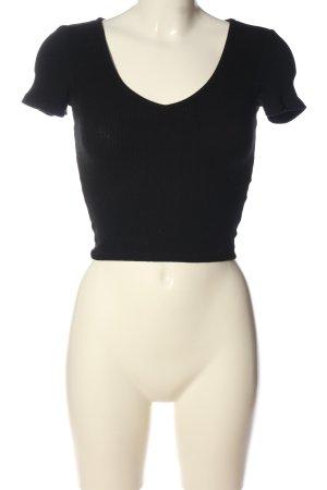 Tally Weijl Koszula o skróconym kroju czarny W stylu casual