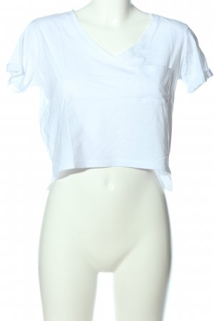 Tally Weijl T-shirt court blanc style décontracté