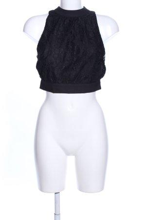 Tally Weijl Cropped Top schwarz Elegant