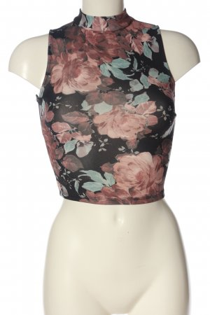 Tally Weijl Cropped Top Blumenmuster Casual-Look
