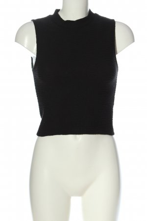 Tally Weijl Cropped Top black casual look