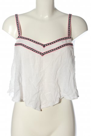 Tally Weijl Cropped top grafisch patroon casual uitstraling