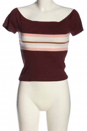 Tally Weijl Cropped Top Streifenmuster Casual-Look