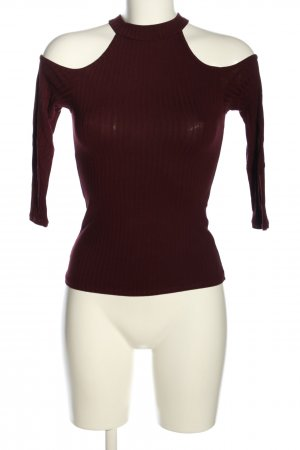 Tally Weijl Top cut-out rosso stile casual