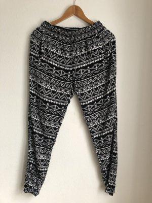 Tally Weijl Pantalone alla turca nero-bianco
