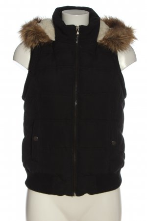 Tally Weijl Down Vest black quilting pattern casual look