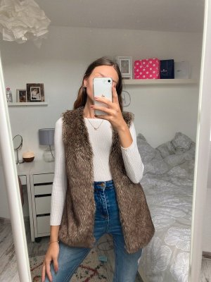 Tally Weijl Fake Fur Vest multicolored