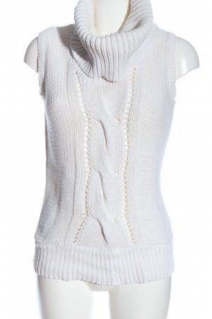 Tally Weijl Fine Knitted Cardigan white casual look