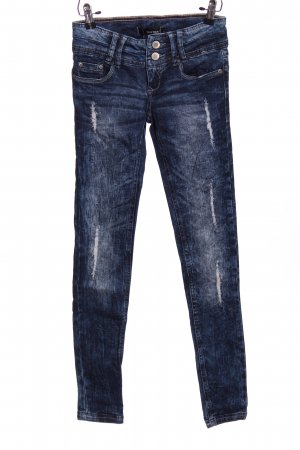 Tally Weijl Pantalone cinque tasche blu stile casual