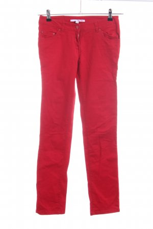Tally Weijl Pantalone cinque tasche rosso stile casual