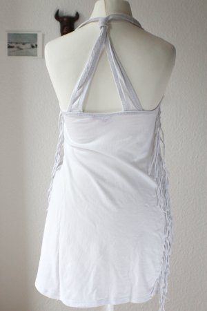 Tally Weijl Fringed Dress white