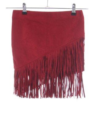Tally Weijl Franjerok rood elegant