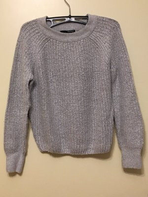 Tally Weijl Knitted Sweater light grey