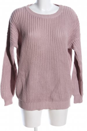Tally Weijl Grobstrickpullover pink Casual-Look