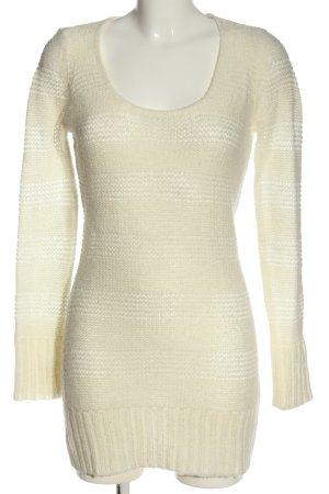 Tally Weijl Szydełkowany sweter kremowy W stylu casual