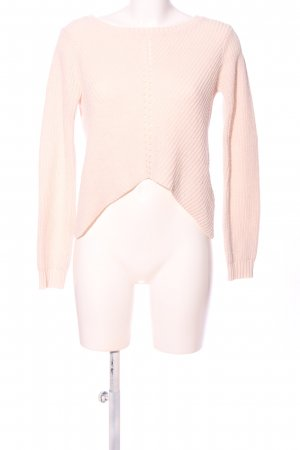 Tally Weijl Crochet Sweater pink casual look