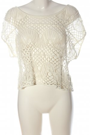 Tally Weijl Crochet Top white street-fashion look