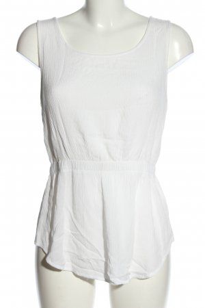Tally Weijl Top a uncinetto bianco stile casual