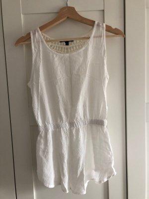 Tally Weijl Crochet Top natural white