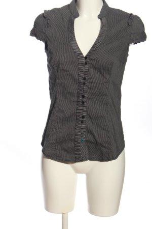 Tally Weijl Blusa-camisa gris claro estampado a rayas look casual
