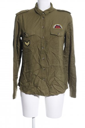 Tally Weijl Hemd-Bluse khaki Casual-Look