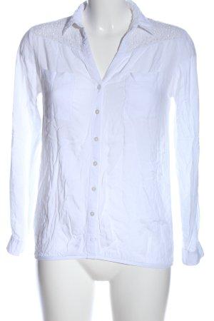 Tally Weijl Hemd-Bluse weiß Business-Look