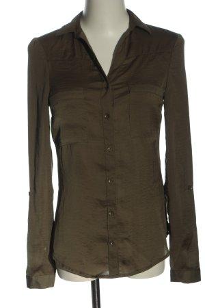 Tally Weijl Hemd-Bluse khaki Business-Look