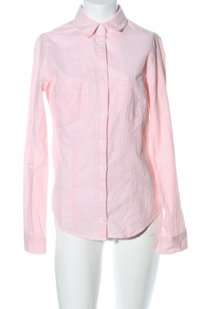 Tally Weijl Hemd-Bluse pink Streifenmuster Business-Look