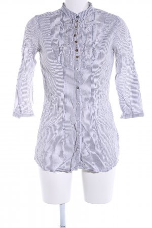 Tally Weijl Hemd-Bluse schwarz-weiß Streifenmuster Business-Look