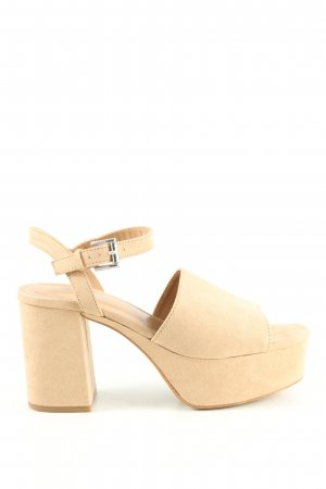 Tally Weijl High Heel Sandaletten nude Casual-Look