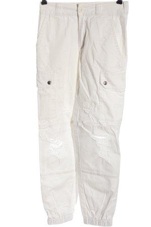 Tally Weijl High Waist Jeans weiß Casual-Look