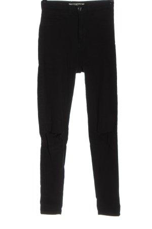 Tally Weijl High Waist Jeans schwarz Casual-Look