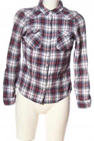 Tally Weijl Lumberjack Shirt white-red allover print casual look