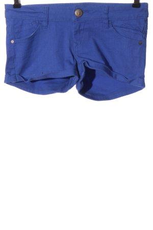 Tally Weijl Hot Pants blau Casual-Look
