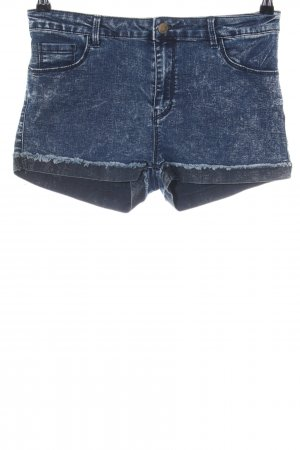 Tally Weijl Hot Pants blau Casual-Look