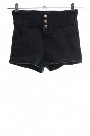 Tally Weijl Hot Pants schwarz Casual-Look