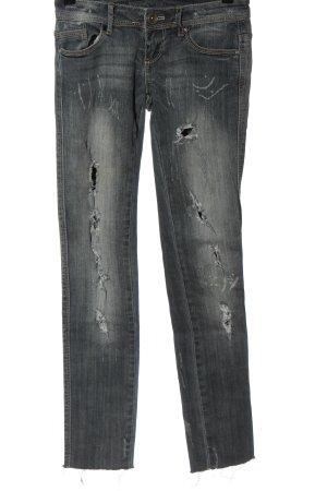 Tally Weijl Low Rise jeans lichtgrijs straat-mode uitstraling