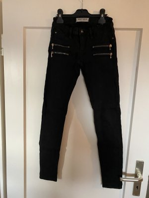 Tally Weijl Jeans Gr. 34 Schwarz