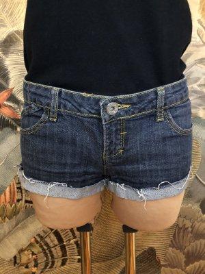 Tally Weijl Denim Shorts dark blue-azure