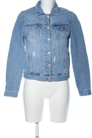 Tally Weijl Jeansjacke blau Casual-Look