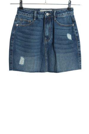 Tally Weijl Jeansrock blau Casual-Look