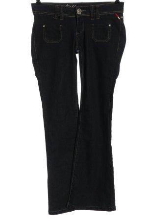 Tally Weijl Jeansowe spodnie dzwony czarny W stylu casual