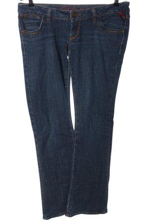 Tally Weijl Jeansschlaghose blau Casual-Look