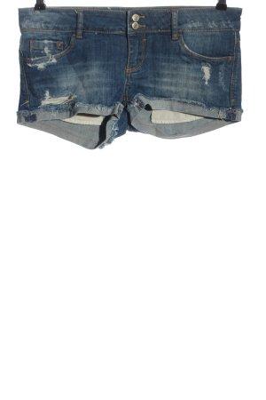 Tally Weijl Pantalón corto de tela vaquera azul look casual