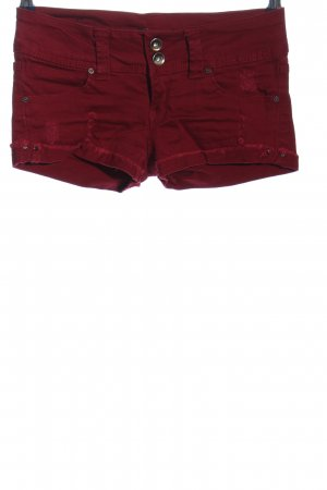 Tally Weijl Jeansshorts rot Casual-Look