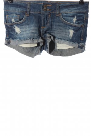 Tally Weijl Pantaloncino di jeans blu stile casual