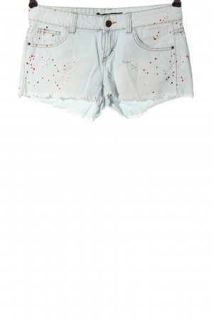 Tally Weijl Jeansshorts Allover-Druck Casual-Look