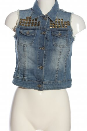 Tally Weijl Jeansweste blau Casual-Look