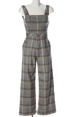 Tally Weijl Jumpsuit light grey allover print casual look