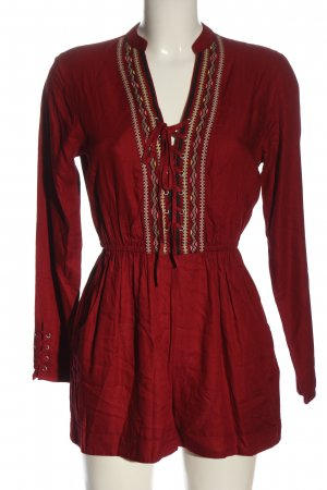 Tally Weijl Jumpsuit rot Casual-Look